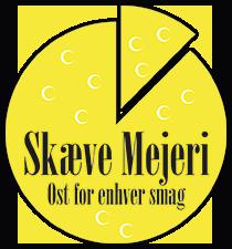 Skæve Mejeris logo
